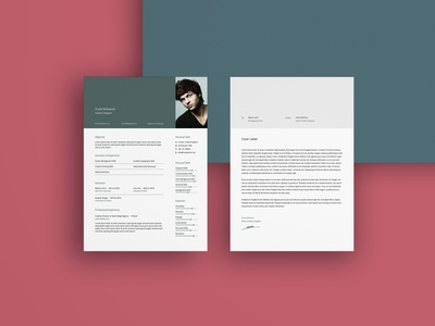Free Creative Resume Template with Cover Letter