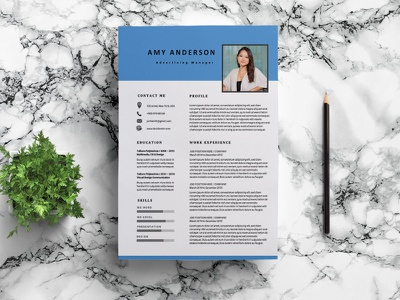 Free Advertising Manager Resume Template resume template resume design cv template design free resume resume cv resume freebies freebie free cv template free resume template