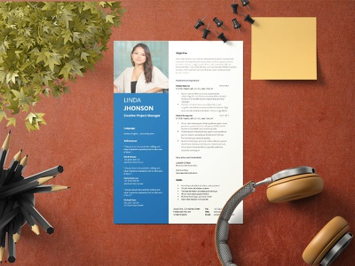Free Creative Project Manager Resume Template resume design cv template design free resume resume cv free cv template freebie free resume template resume freebies
