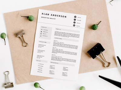 Free Marketing Analyst Resume Template resume design cv template design free resume resume cv free cv template freebie free resume template resume freebies