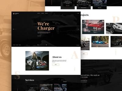 Custom Car Website Design
