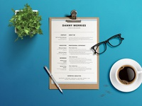 Free Word Resume Template + Cover Letter