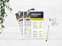 Free Creative Infographic CV/Resume Template