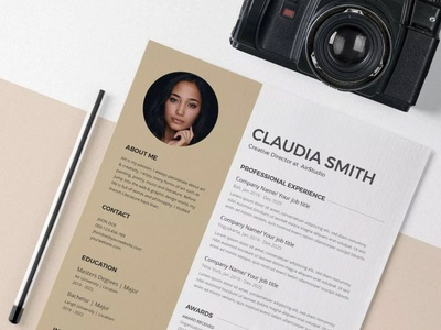 Free A4 Resume Template For Any Job Seeker