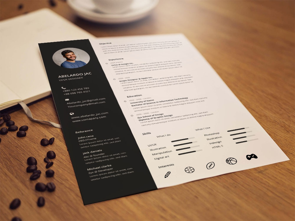 Free Accounting Resume Template free accounting resume template psd resume cv resume template resume design free resume cv template photoshop psd design resume cv free cv template freebie free resume template resume freebies