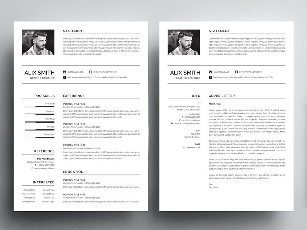 Free Graduate Student Resume Template By Andy Williams On