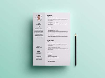 Free Formal Universal Resume Template microsoft word resume microsoft word cv resume template resume design free resume cv template design resume cv free cv template freebie free resume template resume freebies