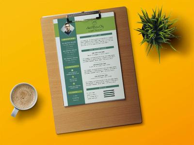 Free Creative Designer CV Template