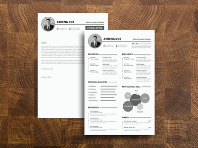 Free CV Template + Cover Letter