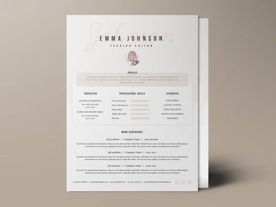 Free Classic and Stylish Resume Template