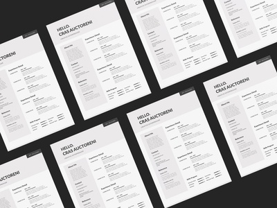 Free Brown Resume Template