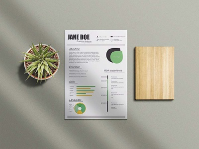 Free Clean Infographic Resume Template resume template resume design cv template design free resume resume cv free cv template freebie free resume template resume freebies