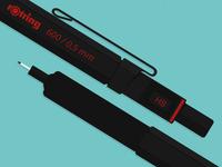 rOtring 600 Black Mechanical Pencil