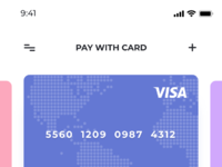 Pay with card 2x