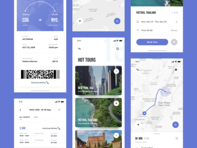 Think UI Kit –  Travel