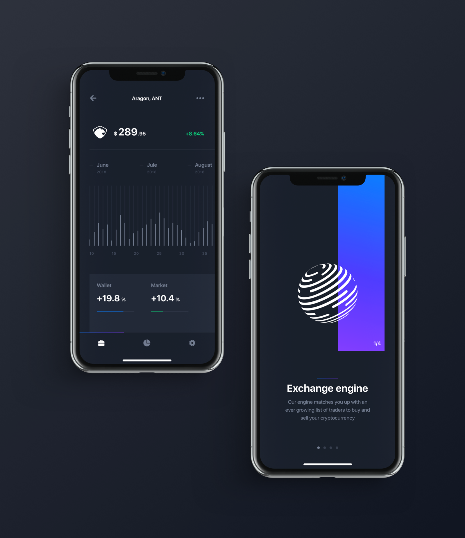 Full preview chain crypto ui kit
