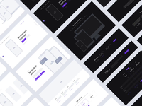 Containers Wireframe Kit layout wireframing wireframe flat interface ux ui prototype webdesign web design