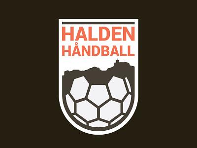 Halden Handball logo logodesign logo