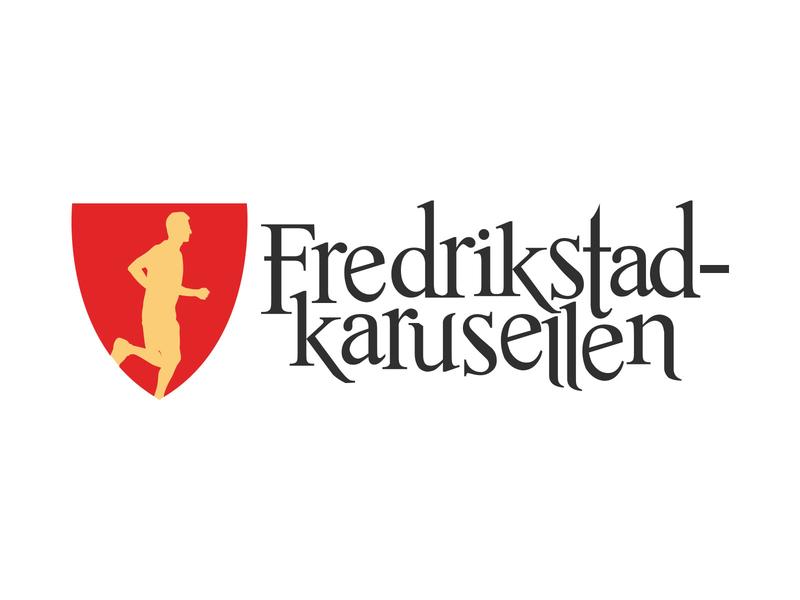 Logo for city race Fredrikstadkarusellen