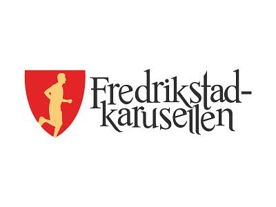 Logo for city race Fredrikstadkarusellen logodesign logo