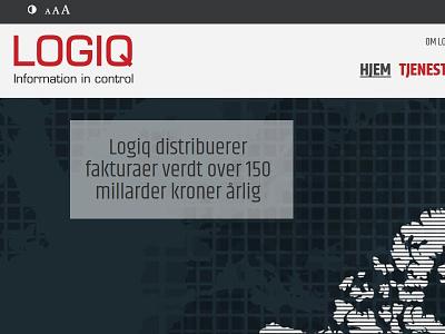 Logiq website design website