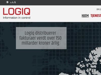 Logiq website design