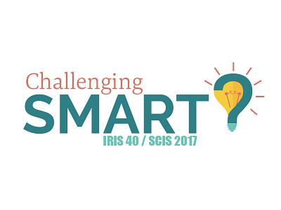 Challenging Smart Logo iconography logo challenging smart