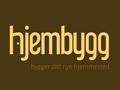 Hjembygg logo door logo entrepreneur