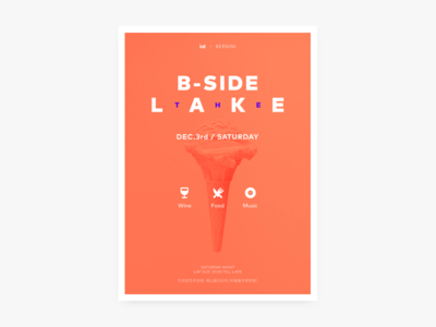 B-Side The Lake Poster