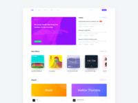 L.A.F Studio Website concept