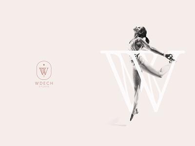 Wdech studio - branding logotype typogaphy brand mark branding agency wellness brand strategy brand identity logo design key visual logo fitness pilates yoga branding