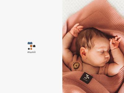 Munii - branding textile pattern for kids barnd designer brand startegy corporate identity brand design design typogaphy logotype logo design logo brand strategy brand mark branding agency branding brand identity