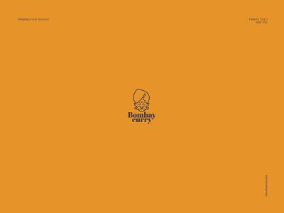 Bombay Curry - logo design logo maker logo designer logos logodesign fast food indian food branding for restaurant restaurant brand typography logo mascot design barnd designer brand mark logo logo design branding brand identity