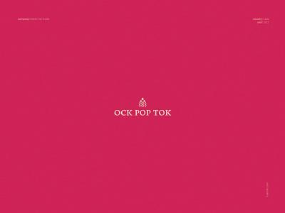 Ock Pop Tok - logo design freelance designer logo maker traditional design tradition identity corporate identity brand identity branding brand design natural fair trade laos textile women empowerment ngo graphic design design logo designer logo design logo