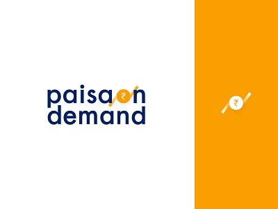 Paisa On Demand banks rbl paisabazaar art web ui design icon vector mark logo logos identity identity design brand app branding pod paisa on demand