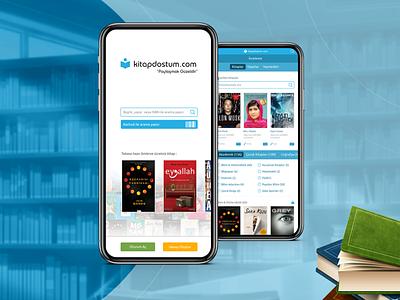 Kitap Dostum Mobile App Ui Design ui app