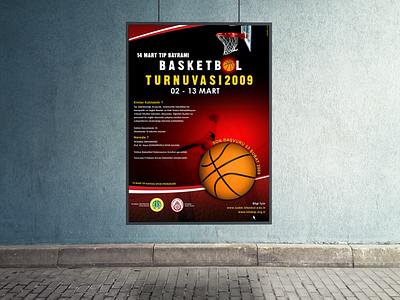 Basketball Tournament Poster Design poster design