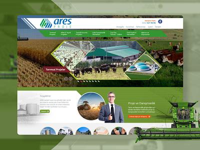Ares Proje Website Design website