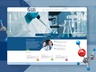 CSC Kimya Website Design website