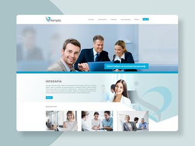 Interapia Website Design website