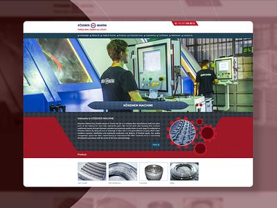 Kösemen Makina Website Design website