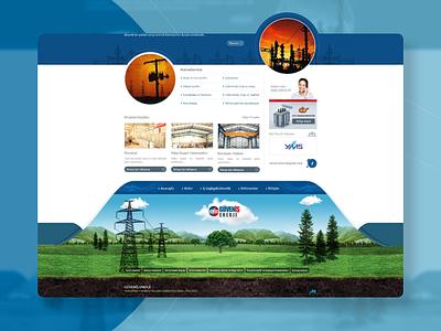 Güveniş Enerji Website Design website