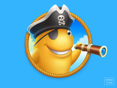 Captain Cracker personage character illustration digitalart pirate captain cracker