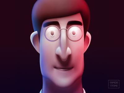 John Lennon johnlennon lennon cartooncharacter personage character illustration digitalart digital art