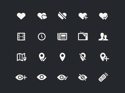 Ciné-Loisirs Icon Set