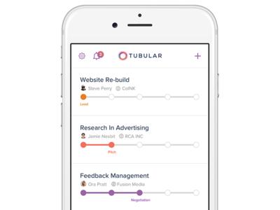 Tubular iOS app