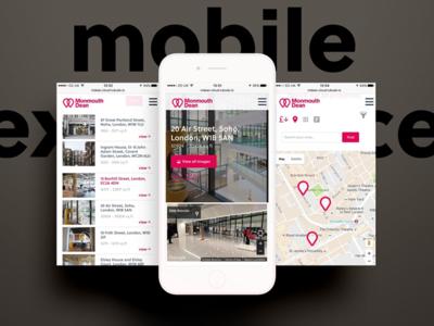 Monmouth Dean Mobile Website