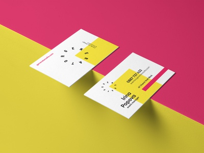 Generator Business Cards stationery business cards corporate materials brand identity branding brand materials