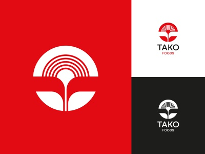 Tako Foods Approved Logo logo design visual identity identity symbol mark logomark logo