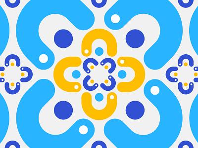 Flower flower pattern illustration